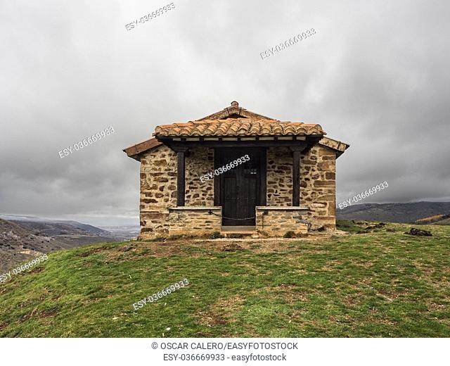 Santa Barbara chapel front view