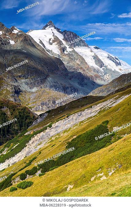 Austria, National Park Hohe Tauern, Salzburger Land, Grossglockner High Alpine Road, Autumn Austria