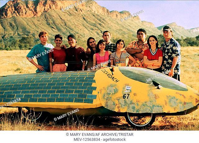 Halle Berry & James Belushi Characters: Miss Sandra Beecher & Frank Machi Film: Race The Sun (1996) Director: Charles T. Kanganis 22 March 1996