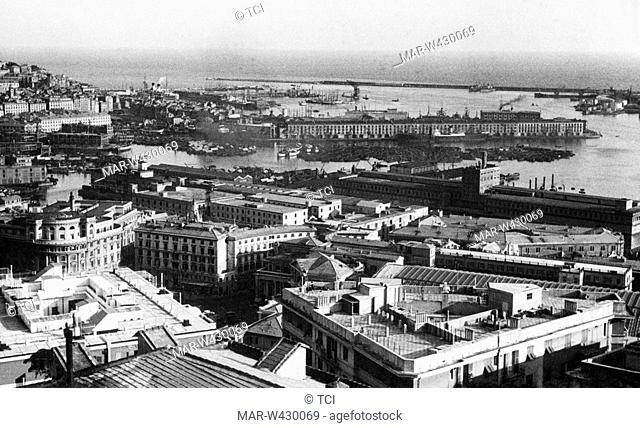 genova, liguria, italy, 1930-40