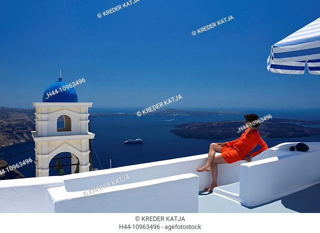Greece, Europe, Cyclades, island, isle, islands, Greek, outside, Mediterranean Sea, chapel, church, architecture, building, building, construction, religion