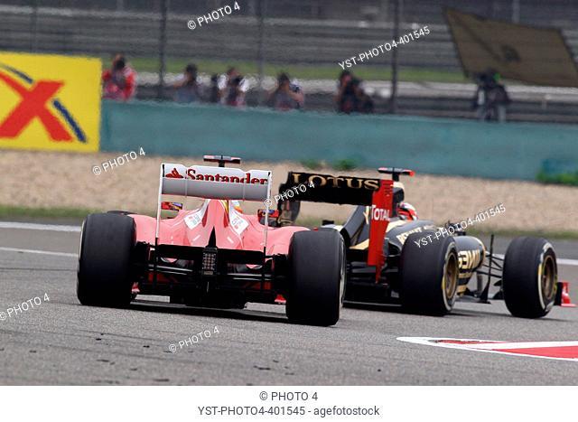 15.04.2012 - Race, Fernando Alonso (ESP) Scuderia Ferrari F2012