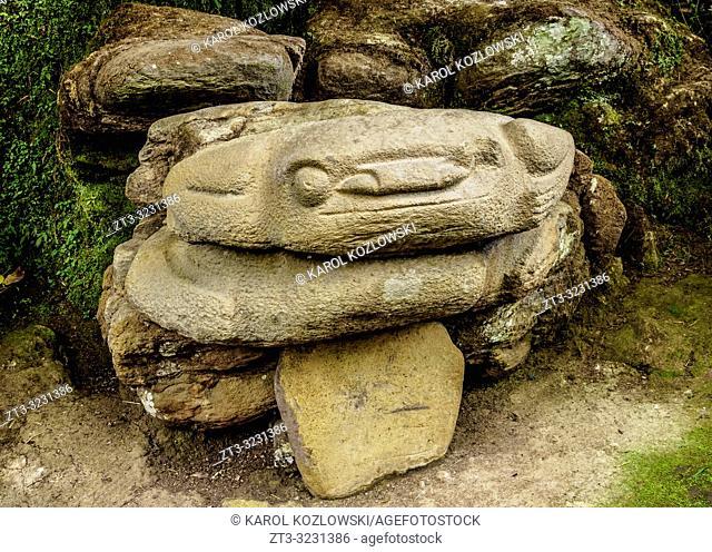 Pre-Columbian Sculpture, San Agustin Archaeological Park, Huila Department, Colombia