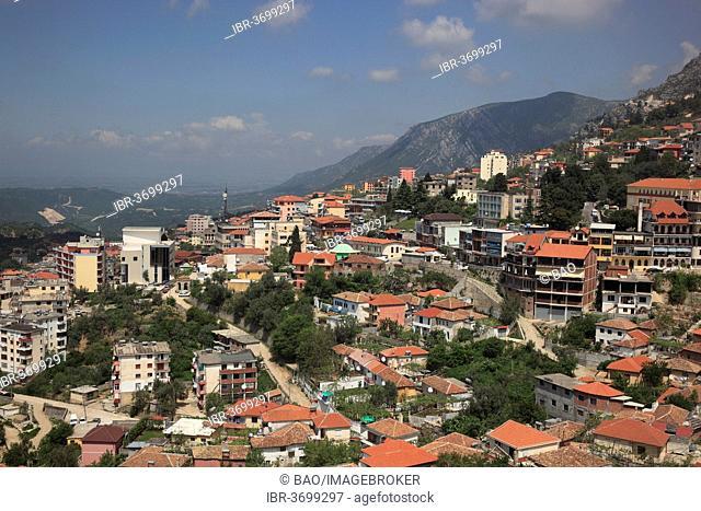Townscape, Kruja, Durrës County, Albania
