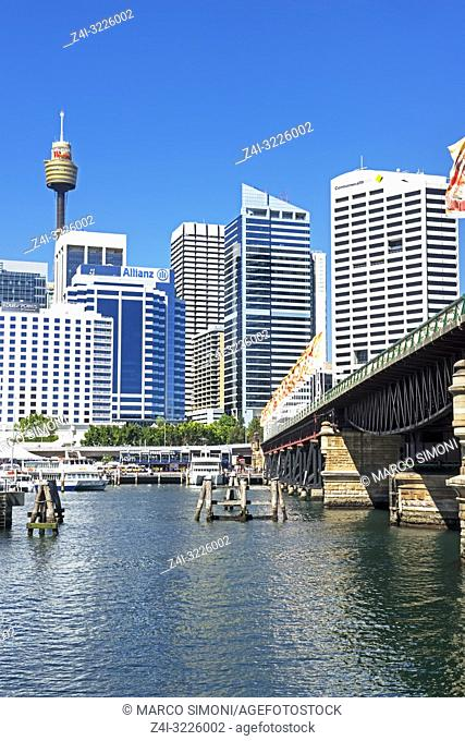 Darling Harbour, Sydney, New South Wales, Australia,