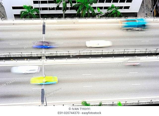 Urban road, Singapore