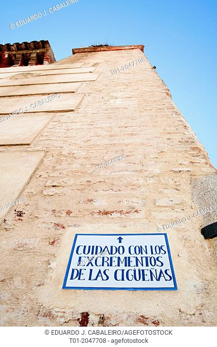 Palacio de San Benito. Cazalla de la Sierra. Sevilla. Andalucia. Spain