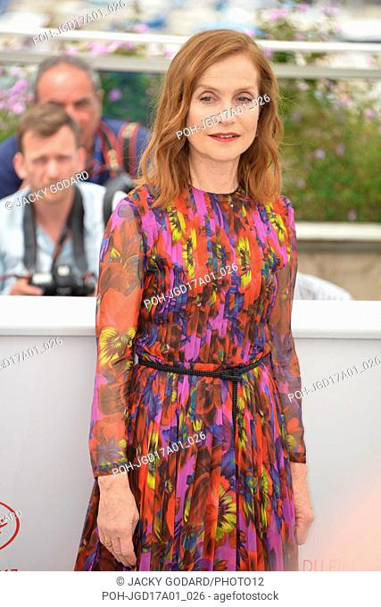 Isabelle Huppert  Photocall of the film 'Happy End' 70th Cannes Film Festival May 22, 2017 Photo Jacky Godard