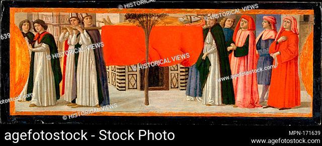 The Burial of Saint Zenobius. Artist: Davide Ghirlandaio (David Bigordi) (Italian, Florence 1452-1525 Florence); Date: ca