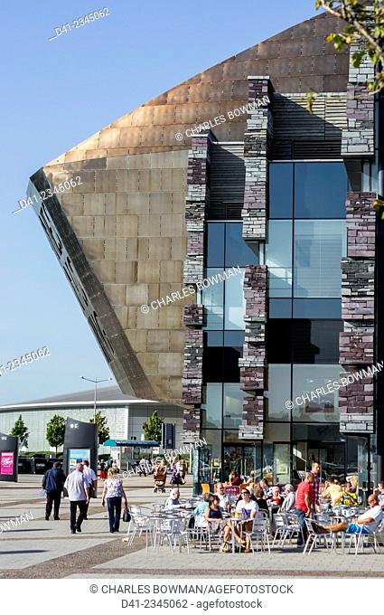 UK, Wales, Cardiff, Millenium Center