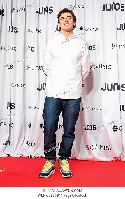 2018 JUNO Awards, held at the Rogers Arena in Vancouver, Canada. Featuring: Mark McMorris Where: Vancouver, British Columbia
