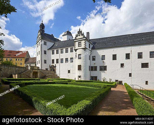 Lauenstein Castle, Ore Mountains, Saxony, Germany