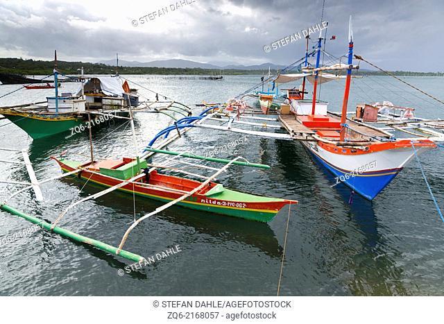 Boat in the Port of Mangingisda in Puerto Princesa, Palawan, Philippines