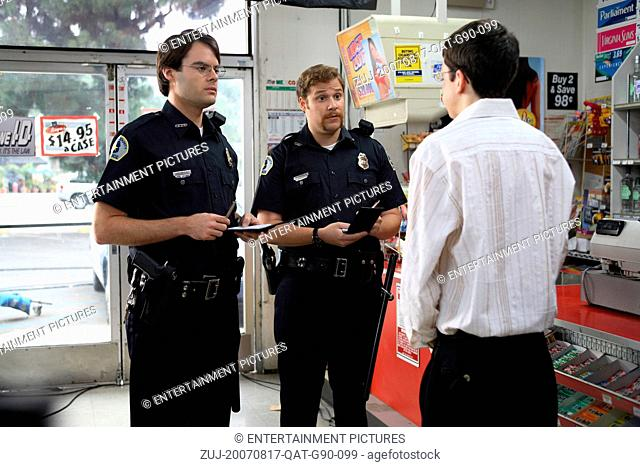 RELEASE DATE: August 17, 2007. MOVIE TITLE: Superbad. STUDIO: Columbia Pictures. PLOT: Two co-dependent high school seniors are forced to deal with separation...