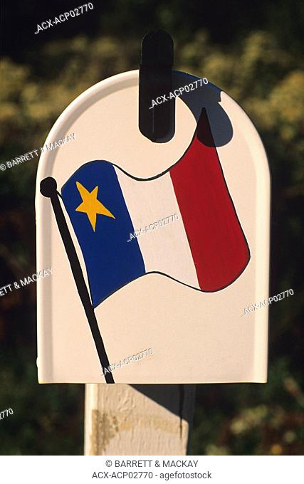Mailbox, Cap Egmont, Prince Edward Island, Canada