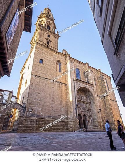 Iglesia de Santo Tomás Apóstol. Haro (capital of Rioja Wine). La Rioja. Spain
