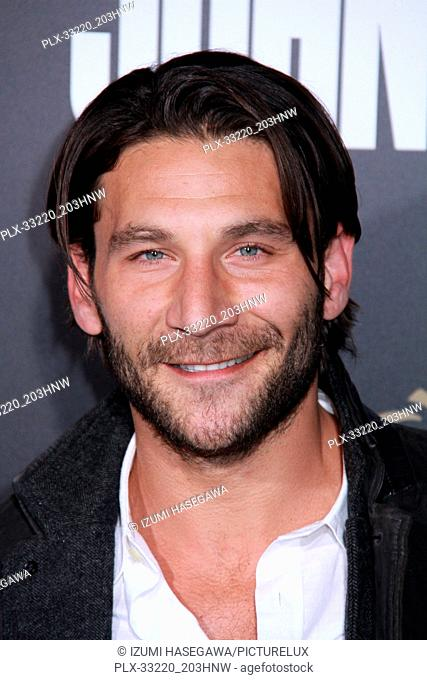 "Zach McGowan 01/30/2017 The Los Angeles Premiere of """"John Wick: Chapter 2"""" held at the ArcLight Hollywood in Los Angeles"