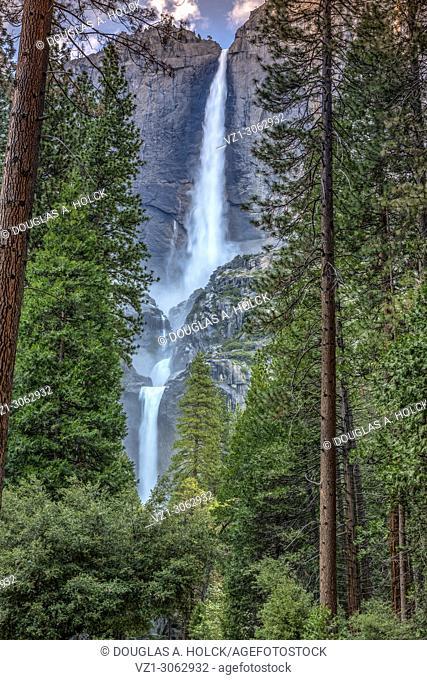 Yosemite Falls in Spring