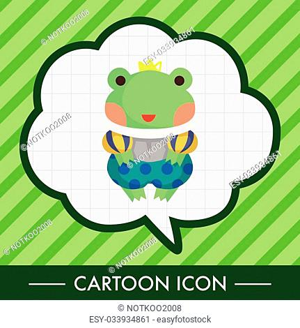 frog prince theme elements
