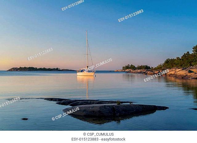 Sailing on a summer night