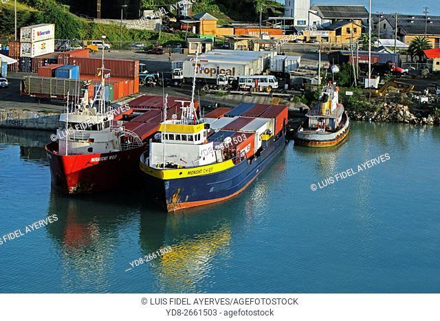Port of St. John's, Antigua island, Antigua and Barbuda, Caribbean