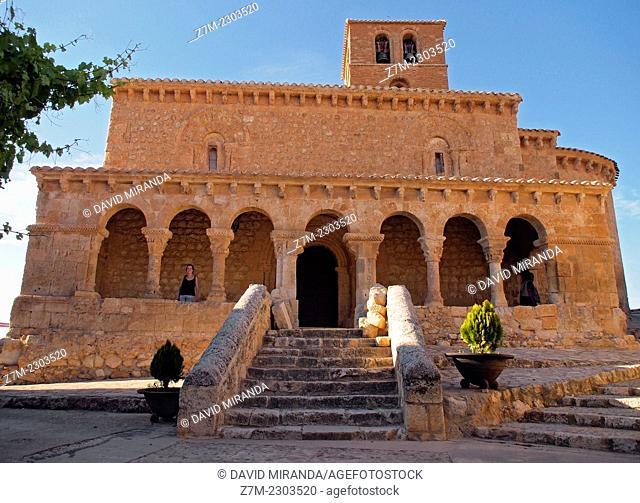 Church of San Miguel in San Esteban de Gormaz, Soria province, Castile-Leon, Spain