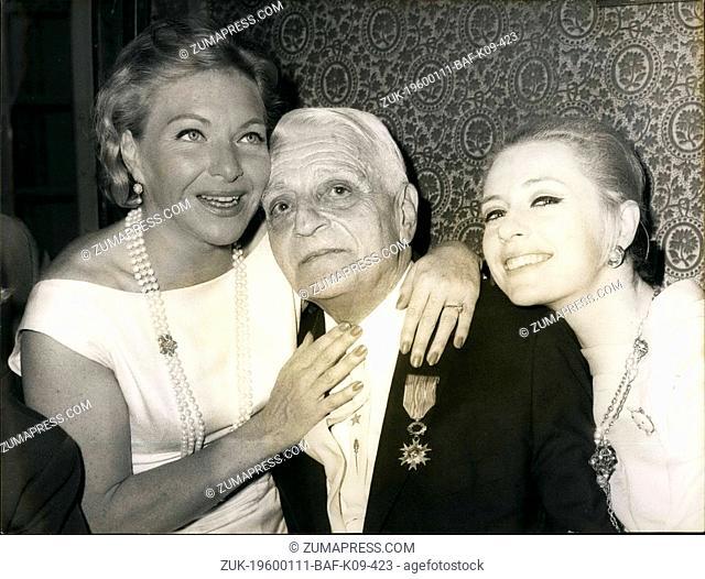 1969 - Henri Varna, Director Of Casino of Paris, Is now 'Chevalier of national order of merit. Heri Varna, Director of Casinode Parsi 'was named' Chevalher...