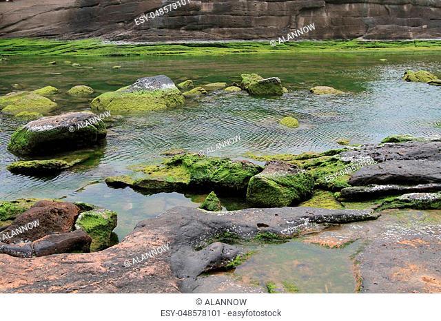 New Taipei, Taiwan, the cape known geologists Yehliu Promontory