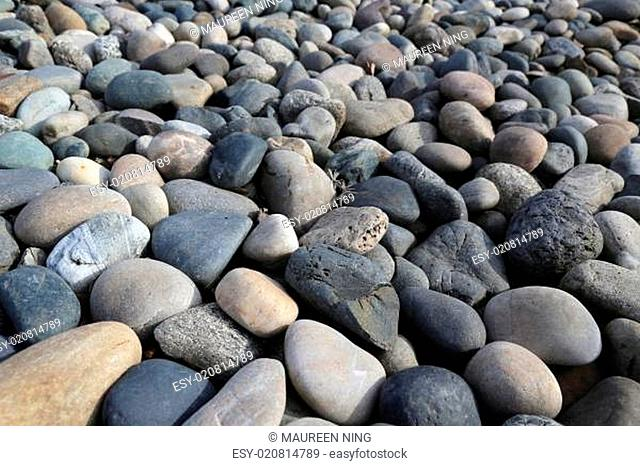 River rock background