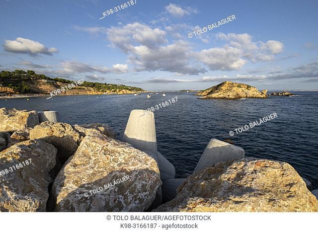 Portals Nous, Els Terrers de S'Hostalet, Calviá, Mallorca, balearic islands, Spain