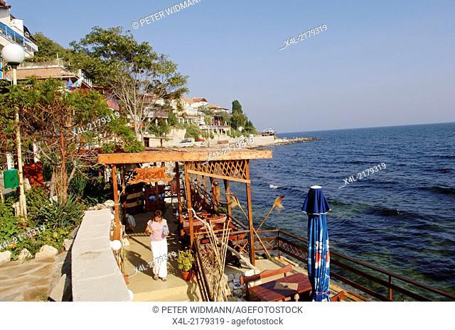 Nessebar, restaurant, Bulgaria, Black Sea