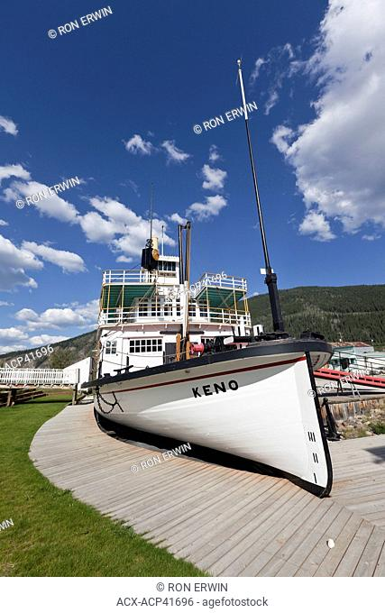 S.S. Keno National Historic Site of Canada, Dawson City, Yukon, Canada