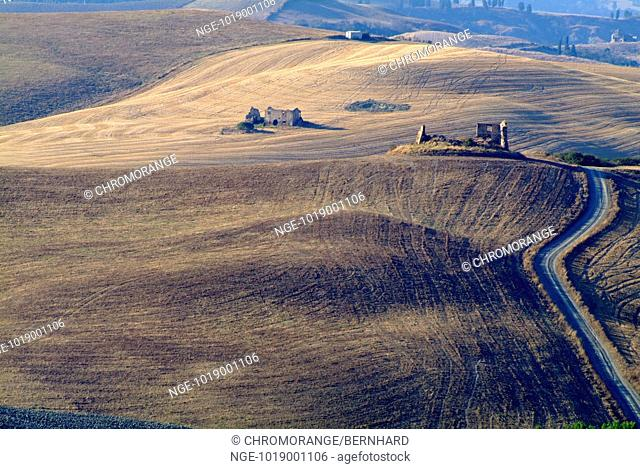 Landscape with Ruins, Tuscany
