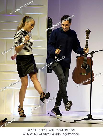 The Clothes Show Live 2015 at the NEC Arena- Day 3 Featuring: Antonia O'Brien, Andy Jordan Where: Birmingham, United Kingdom When: 06 Dec 2015 Credit: Anthony...