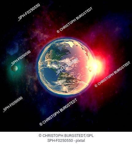 Earth, illustration