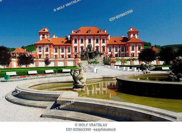 Park of chateau Troja