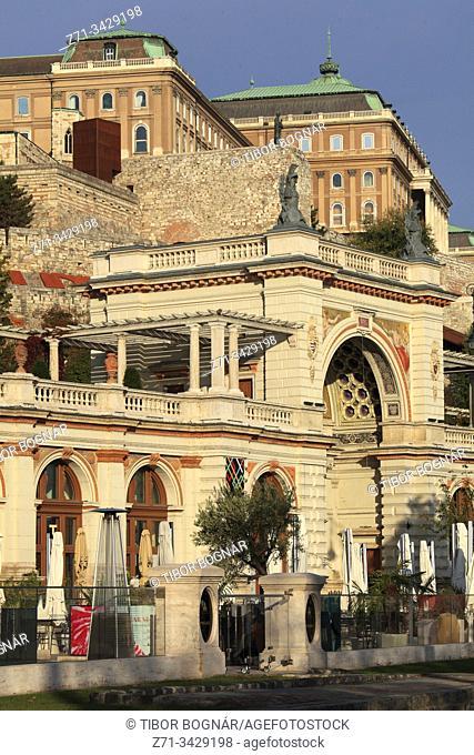 Hungary, Budapest, Várkert Bazaar, Castle Garden