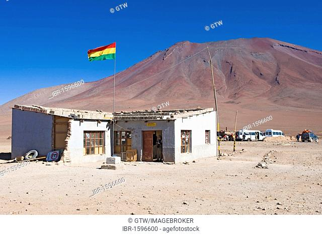 Bolivian border office near San Pedro de Atacama, Potosi, Bolivia, South America