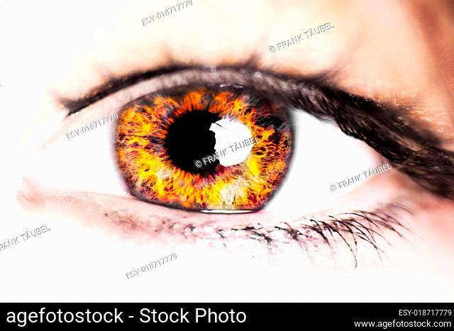 Auge - Feuer