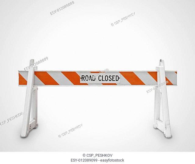 road closed symbol