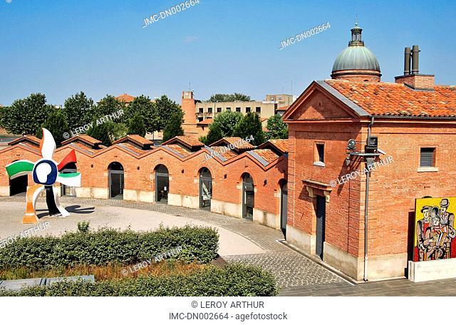 France, Languedoc, Toulouse, museum les abattoirs