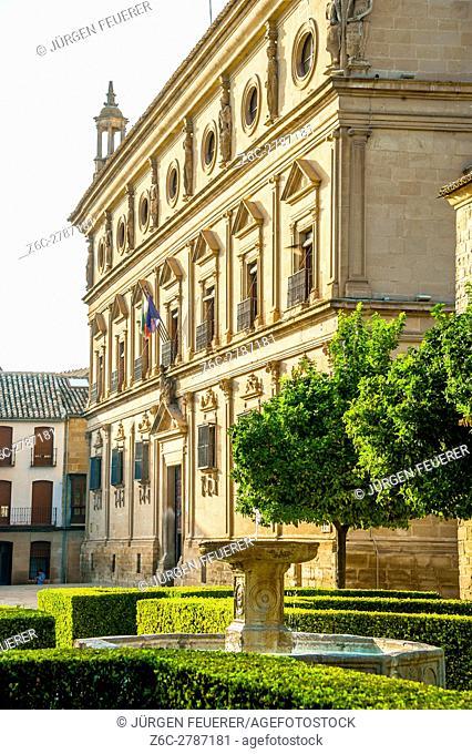 Palacio de las Cadenas, Ubeda, Zona Monumental, UNESCO world heritage site, Andalusia, Spain