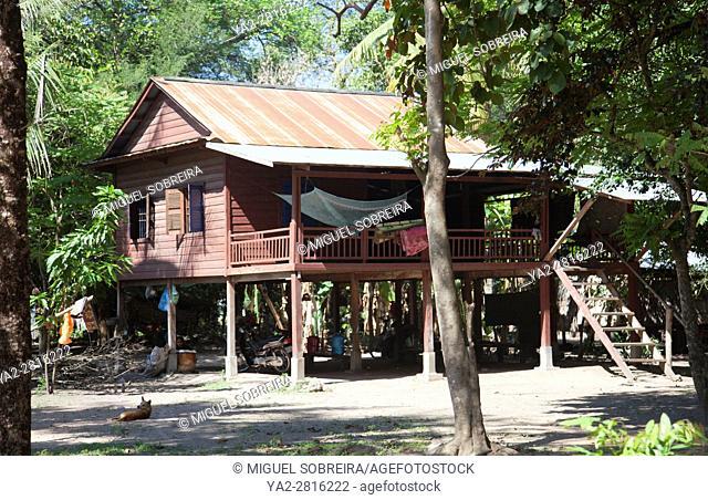 Preah Dak House in Siem Reap Village - Cambodia