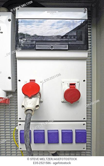 A power box outlet