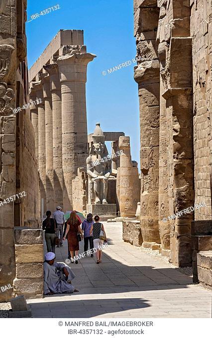 Portico, Karnak Temple, Karnak, Luxor, Egypt
