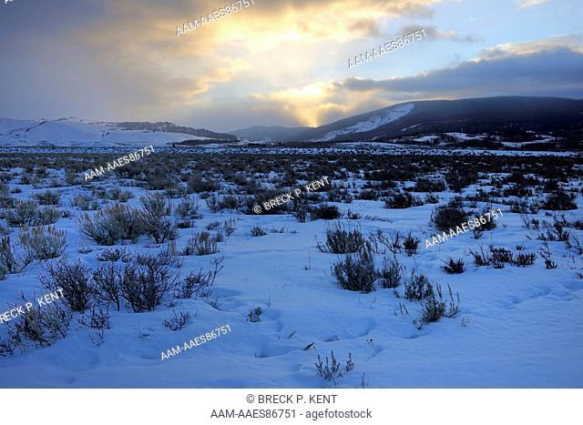 Sunrise, Grand Tetons National Park, Wy