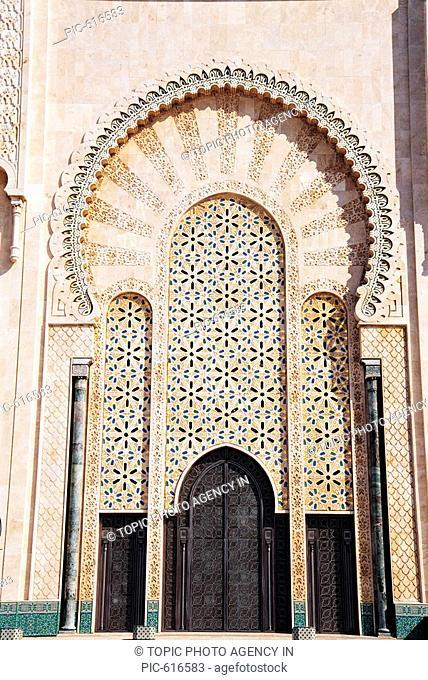 Hassan¥±Mosque, Casablanca, Morocco, Africa