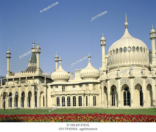 Brighton, England, United Kingdom, Great Britain, Holiday, Landmark, Pavillion, Royal, Sussex, Tourism, Travel, Vacation