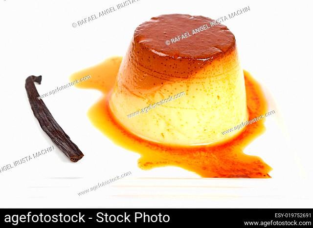 Cream caramel dessert