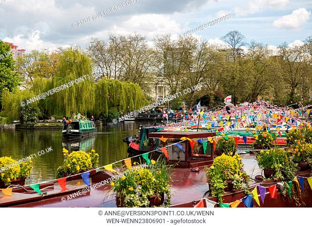 IWA (Inland Waterways Association) Canalway Cavalcade 2016 Featuring: Atmosphere Where: London, England, United Kingdom When: 30 Apr 2016 Credit:...